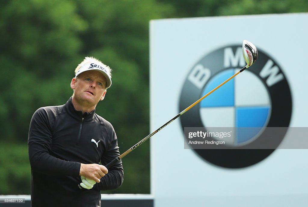 <a gi-track='captionPersonalityLinkClicked' href=/galleries/search?phrase=Soren+Kjeldsen&family=editorial&specificpeople=242923 ng-click='$event.stopPropagation()'>Soren Kjeldsen</a> of Denmark tees off on the 3rd hole during day two of the BMW PGA Championship at Wentworth on May 27, 2016 in Virginia Water, England.