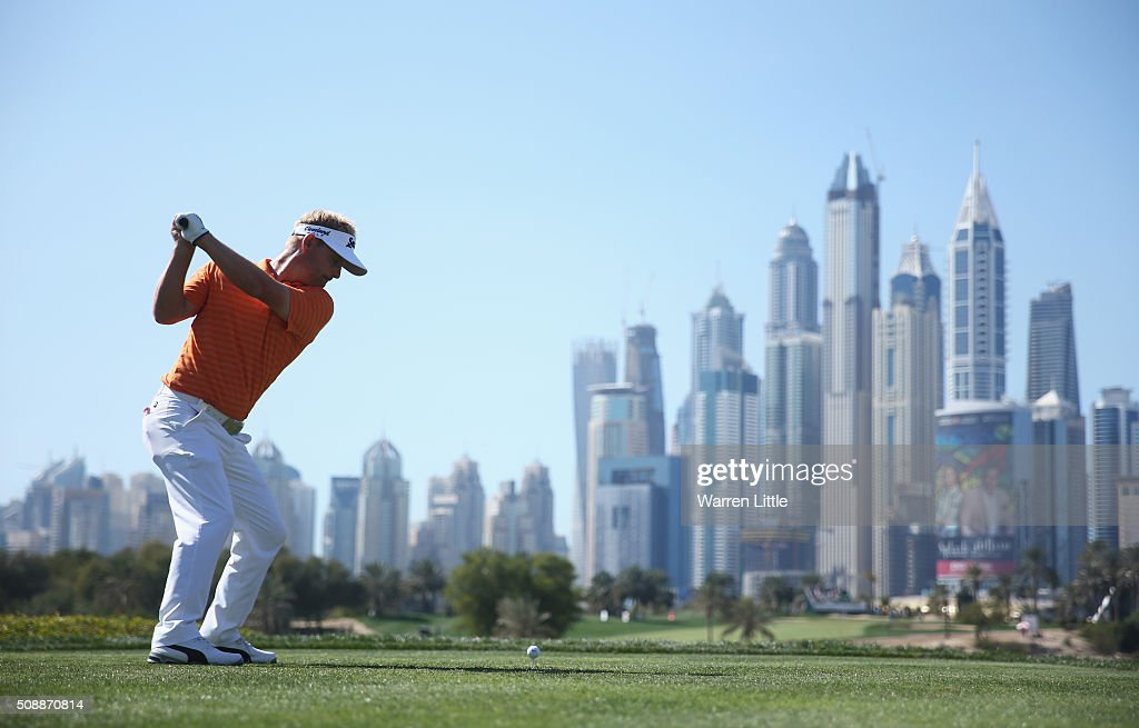 <a gi-track='captionPersonalityLinkClicked' href=/galleries/search?phrase=Soren+Kjeldsen&family=editorial&specificpeople=242923 ng-click='$event.stopPropagation()'>Soren Kjeldsen</a> of Denmark tees off on the 8th hole during the final round of the Omega Dubai Desert Classic at the Emirates Golf Club on February 7, 2016 in Dubai, United Arab Emirates.