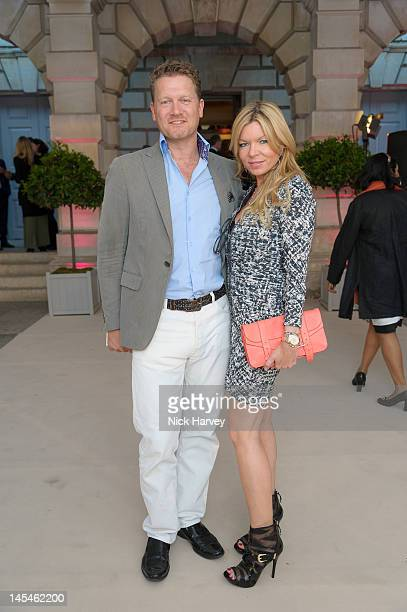 Soren Tholstrup and Fru Tholstrup attend the private VIP view of Royal Academy Summer Exhibition 2012 at Royal Academy of Arts on May 30 2012 in...