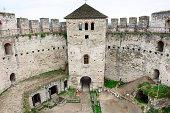 Inner yard of Soroca Fortress, Moldova, Eastern Europe