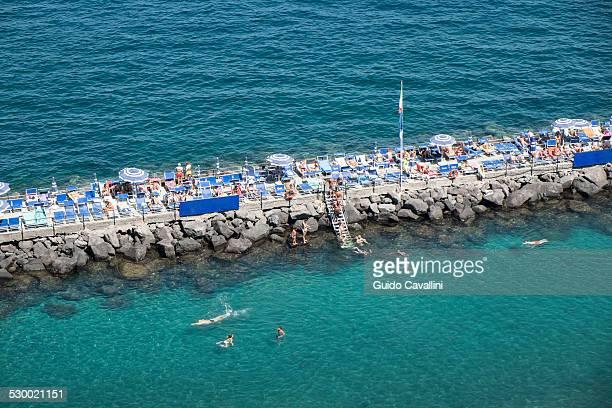 Sorrento beach, Napoli, Campania, Italia