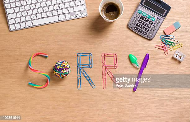 Sorry office desk