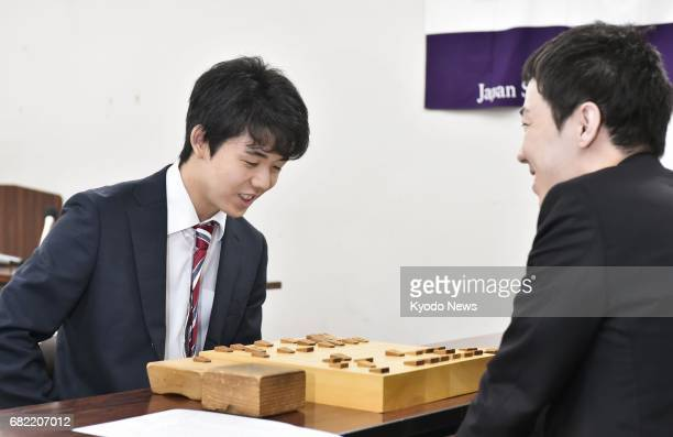 Sota Fujii at 14 the youngest professional player of shogi or Japanese chess extends his record winning streak to 17 matches with a win over...