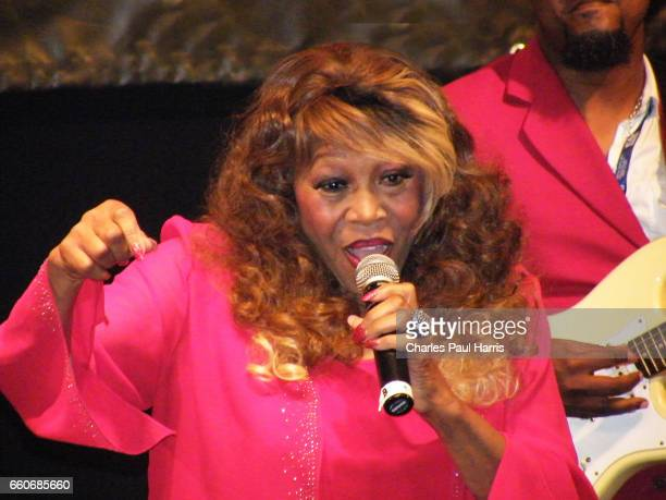 Soul blues and rb songwriter singer and record producer Denise LaSalle performs at the Porretta Soul Festival JULY 18 2014 at Porretta Terme Emilia...
