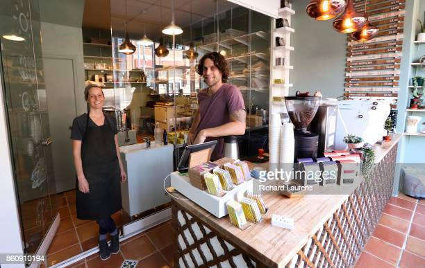 TORONTO ON OCTOBER 5 Soul Chocolate is now open for business on Gerrard Street East at Broadview Owners and chocolate makers Kyle and Katie Wilson...