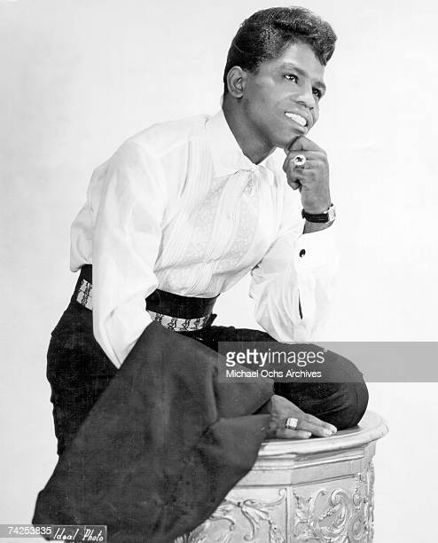 Soul singer James Brown poses for a portrait in circa 1956