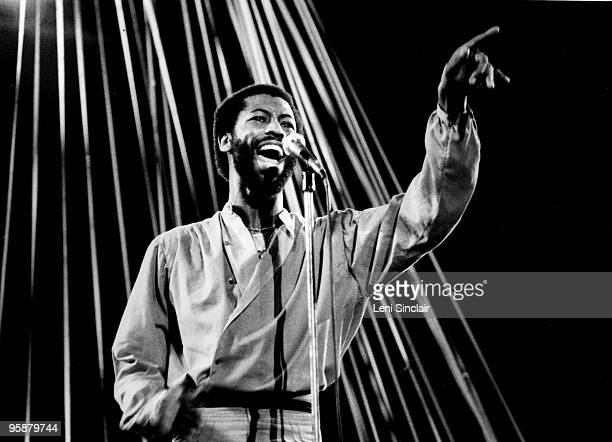 Soul singer Teddy Pendergrass performs live at the Masonic Temple in 1978 in Detroit Michigan