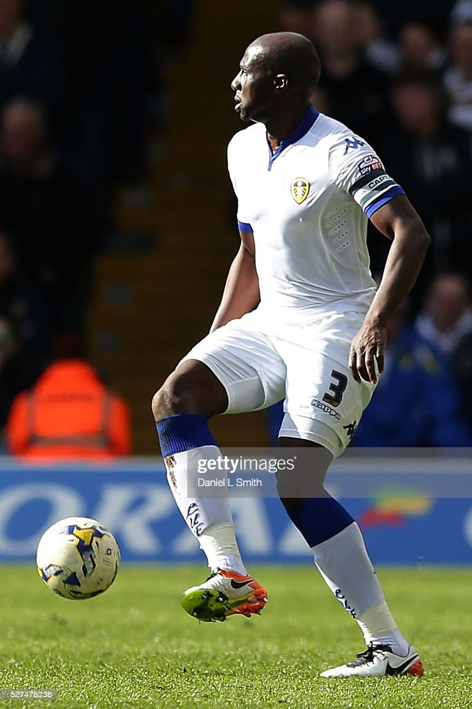 Souleman Bamba of Leeds United FC during the Sky Bet Championship match between Leeds United and Charlton Athletic at Elland Road on April 30 2016 in...