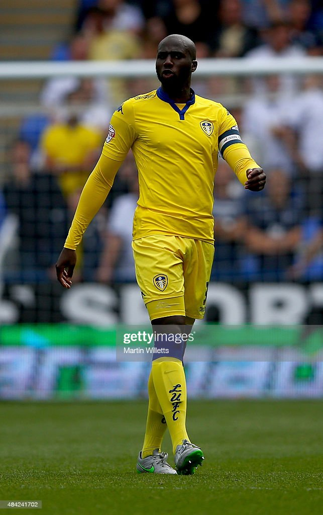 Souleymane Bamba of Leeds United during the Sky Bet Championship match between Reading and Leeds United at Madejski Stadium on August 16 2015 in...