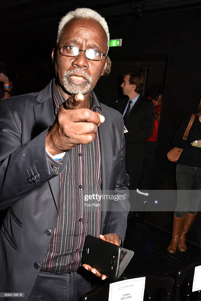 Souleymane Cisse attends the 'Positive Awards' Ceremony at La Gaiete Lyrique on December 7, 2015 in Paris, France.