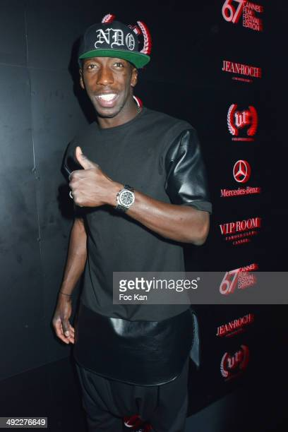 Souleymane Diawara attends the VIP Room JW Marriott Day 5 Afro Jack DJ Set at The 67th Annual Cannes Film Festival on May 18 2014 in Cannes France