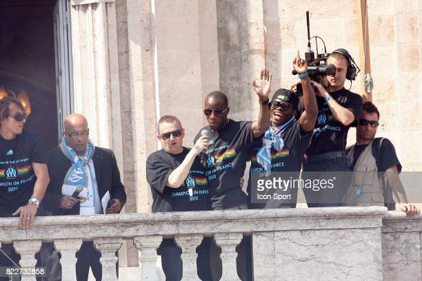 Souleymane DIAWARA / Ismaila TAIWO fete du titre de champion a Marseille