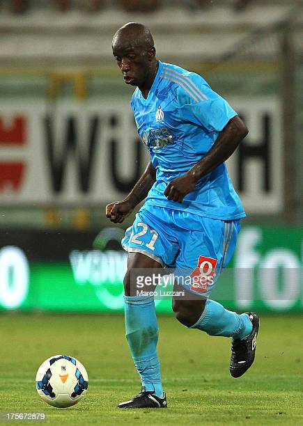 Souleymane Diawara of Olympique de Marseille in action during the preseason friendly match between Parma FC and Olympique de Marseille at Stadio...