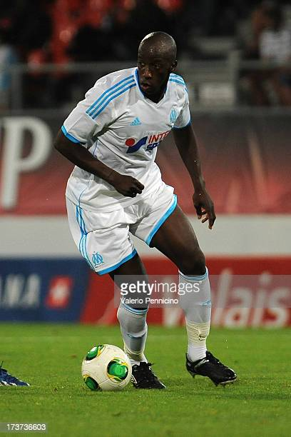 Souleymane Diawara of Olympique Marseille in action during the preseason friendly match between FC Porto and Olympique Marseille at Estadio...