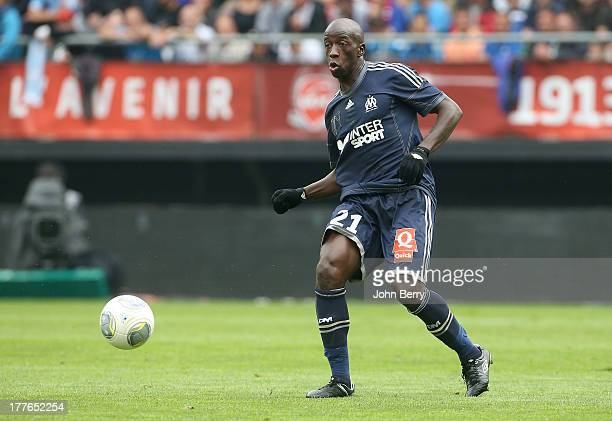 Souleymane Diawara of OM in action during the French Ligue 1 match between Valenciennes FC and Olympique de Marseille OM at the Stade du Hainaut...