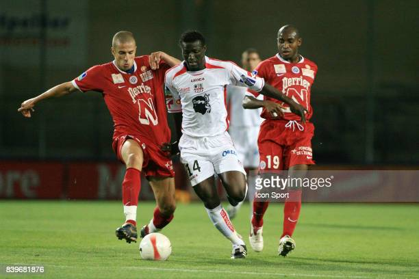 Souleymane KEITA Montpellier / Ajaccio 5e journee de Ligue 2
