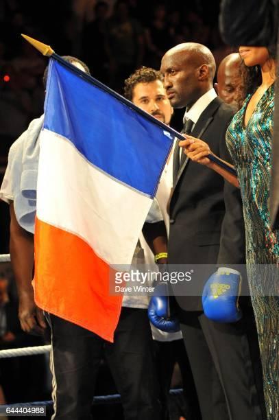 Souleymane MBAYE / Colin LYNES Championnat d'Europe des poids superlegers Championnat d'Europe EBU Soir de Rage Palais Des Sports MarcelCerdan...