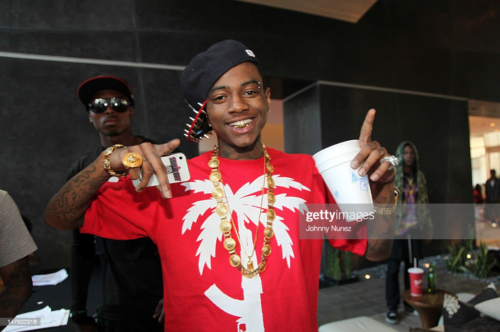 <a gi-track='captionPersonalityLinkClicked' href=/galleries/search?phrase=Soulja+Boy&family=editorial&specificpeople=4411462 ng-click='$event.stopPropagation()'>Soulja Boy</a> attends the Epic Records 'Epic Moment' Event at The Station Hollywood on June 30, 2012 in Hollywood, California.