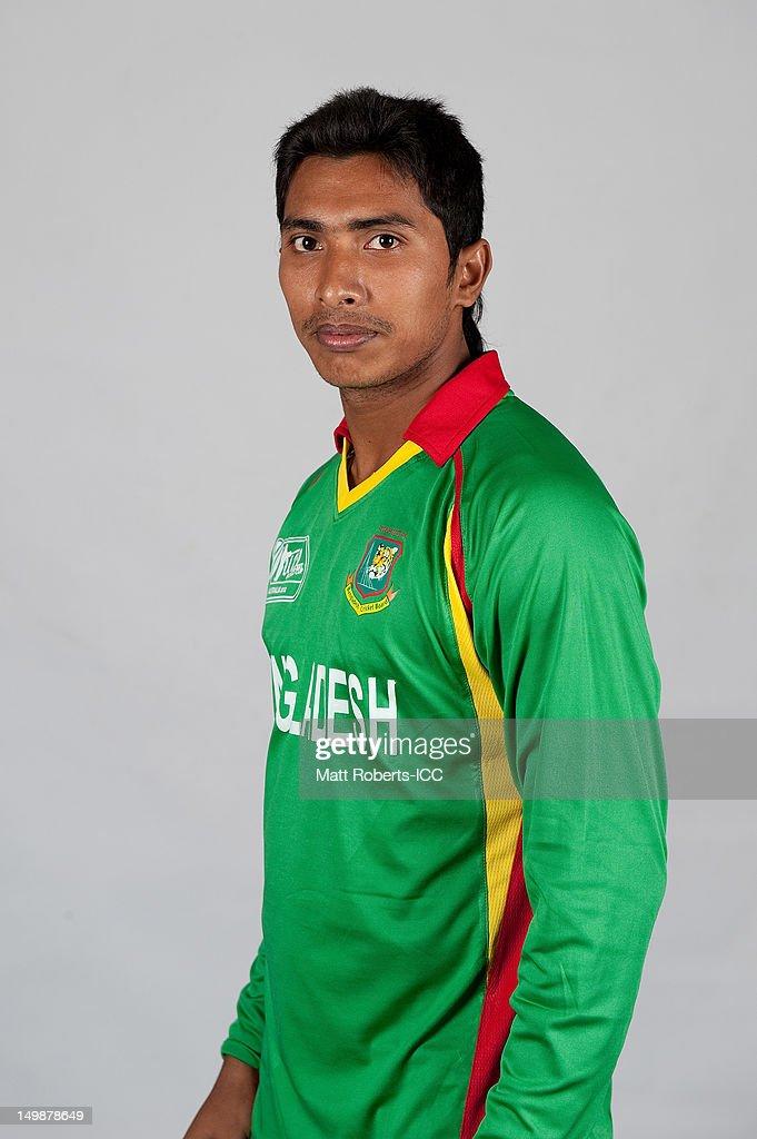 Soumya Sarkar of Bangladesh poses during a ICC U19 Cricket World Cup 2012 portrait session at Allan Border Field on August 6, 2012 in Brisbane, Australia.