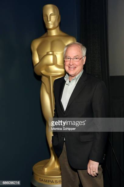 Sound designer film editor director screenwriter and voice actor Ben Burtt attends The Academy of Motion Picture Arts and Sciences host a special...