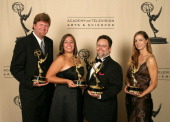 Sound editing tem for 'Smallville' winners of Outstanding Sound Editing for a Series