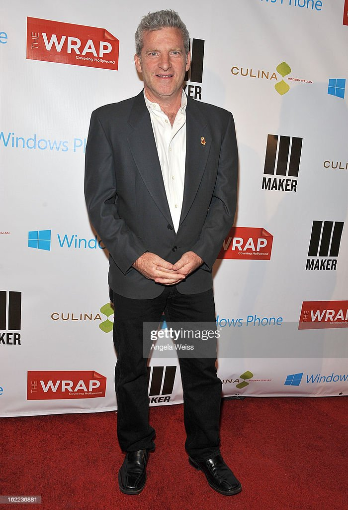 Sound Editor <a gi-track='captionPersonalityLinkClicked' href=/galleries/search?phrase=Ethan+Van+der+Ryn&family=editorial&specificpeople=840730 ng-click='$event.stopPropagation()'>Ethan Van der Ryn</a> arrives at TheWrap 4th Annual Pre-Oscar Party at Four Seasons Hotel Los Angeles at Beverly Hills on February 20, 2013 in Beverly Hills, California.