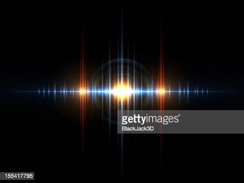 Sound Light Wave