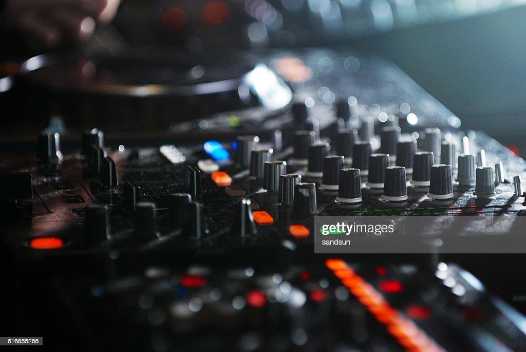 sound mixer : Stock Photo