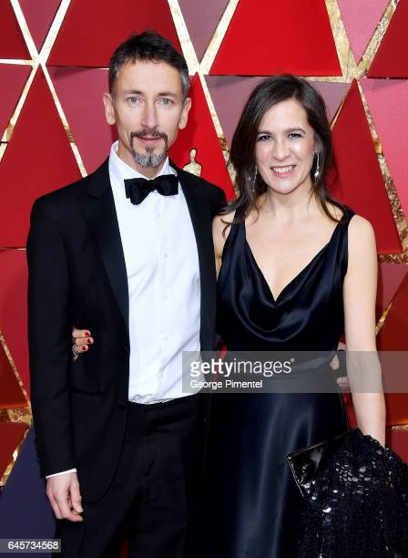 Sound Mixer Stuart Wilson and guest attend the 89th Annual Academy Awards at Hollywood Highland Center on February 26 2017 in Hollywood California