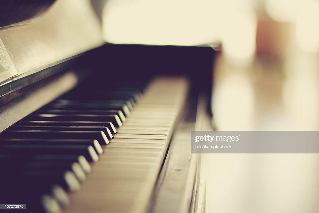 Sound of Piano : Stock Photo