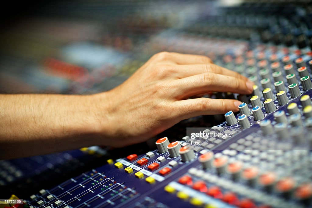 Sound Technician at Work
