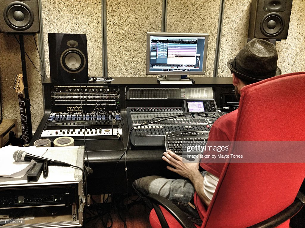 Sound technician : Stock Photo