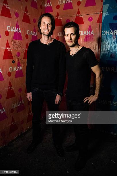 SoundCloud cofounder and Chief Executive Officer Alex Ljung and SoundCloud cofounder and Chief Technology Officer Eric Wahlforss attend the...