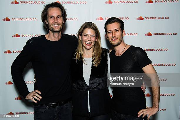 SoundCloud cofounder and Chief Executive Officer Alex Ljung Chief Revenue Officer Alison Moore and SoundCloud cofounder and Chief Technology Officer...