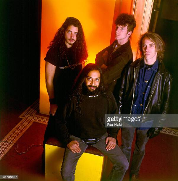 Soundgarden on 11/8/91 in Chicago Il