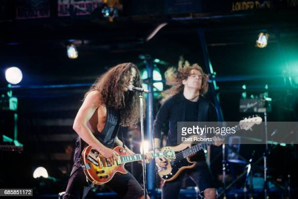 Soundgarden performing at the College Music Journal Awards at the Beacon Theater in New York City on October 26 1989