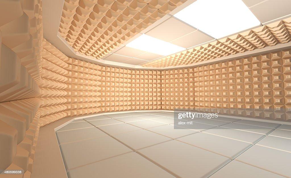Soundproof room : Stock Photo