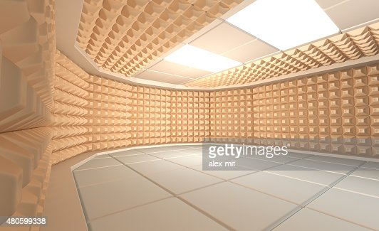 Soundproof room : Stock Photo