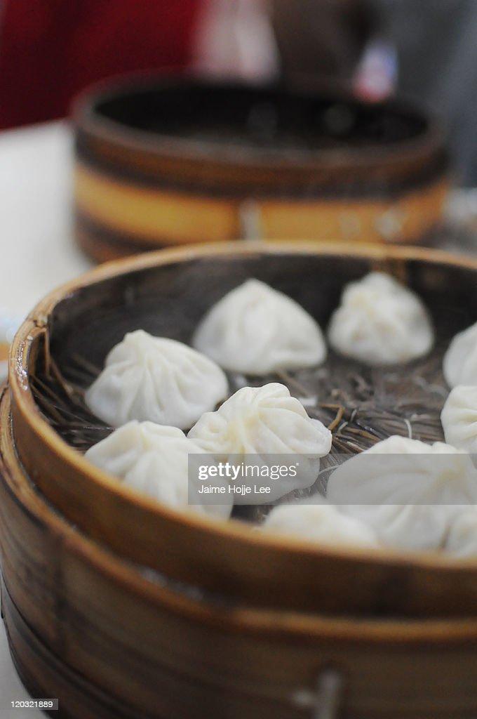 Soup dumplings : Stock Photo