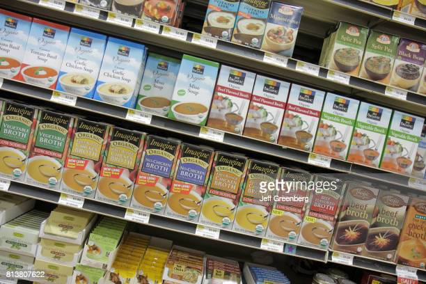 Soup for sale at Whole Foods Market