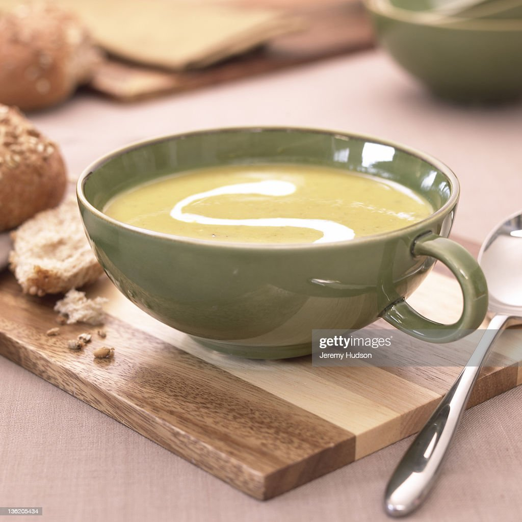 Soup in a cup : Stock Photo