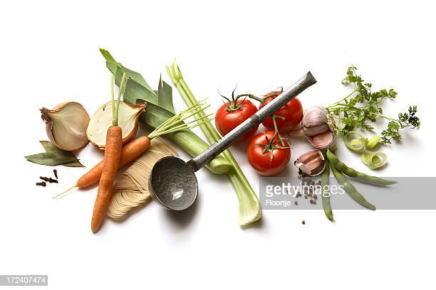 Soup Ingredients: Vegetable