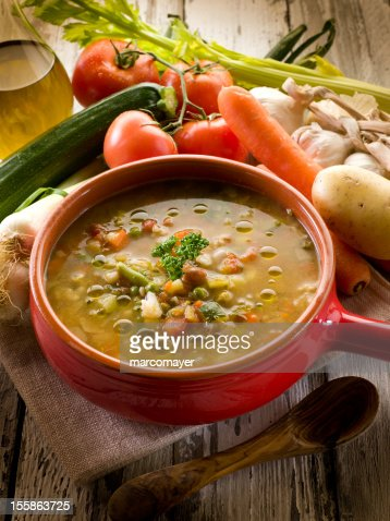 soup vegetable : Stock Photo
