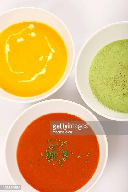Des soupes