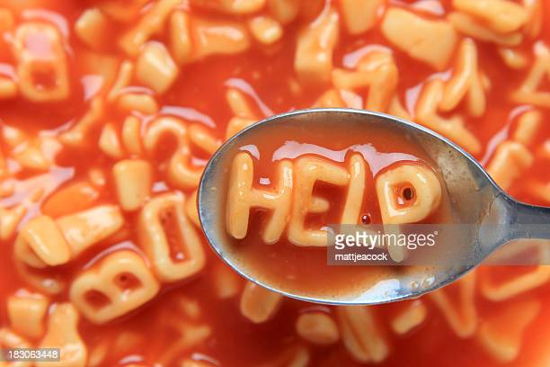 A soup's silent cry for help.