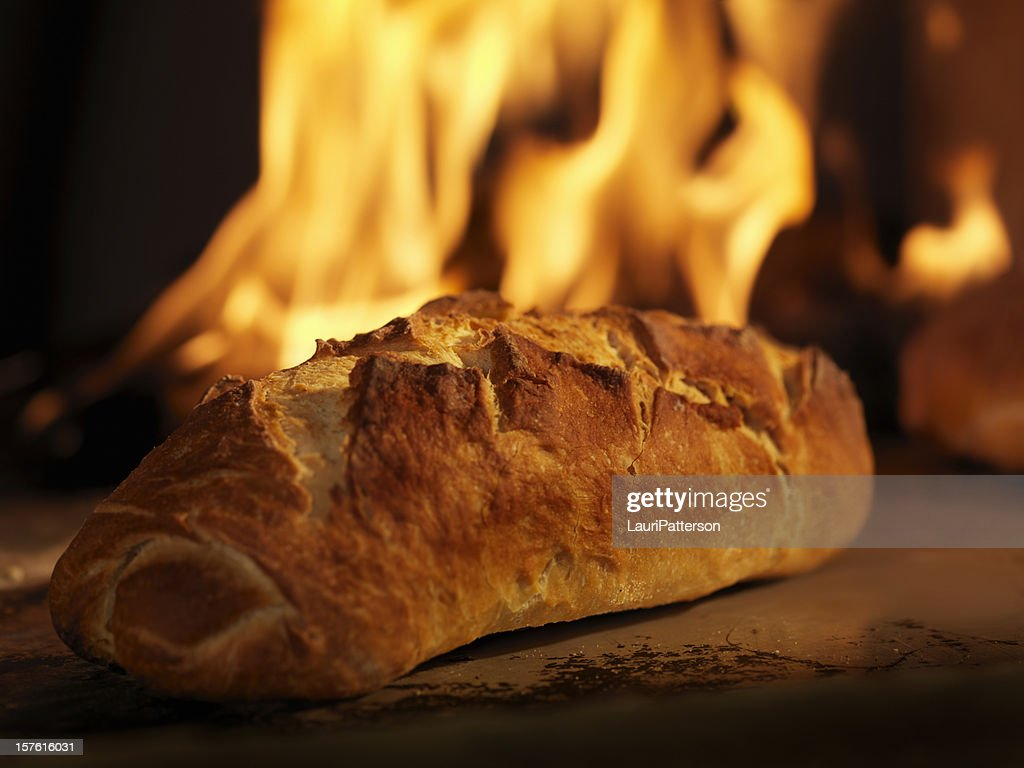 Sourdough Bread in a Wood Burning oven
