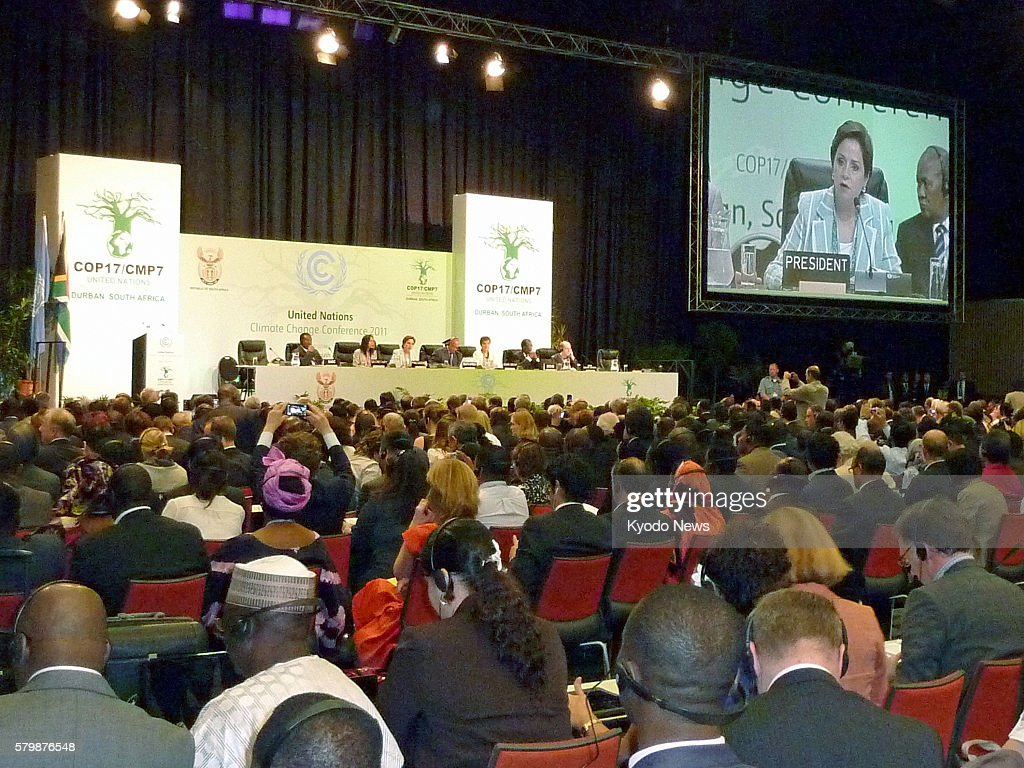 DURBAN South Africa An opening ceremony is held as delegates from nearly 200 countries started annual talks in Durban South Africa on Nov 28 to...