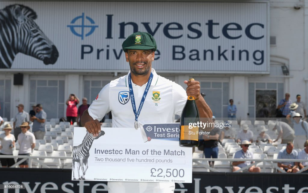 England v South Africa - 2nd Investec Test: Day Four : News Photo