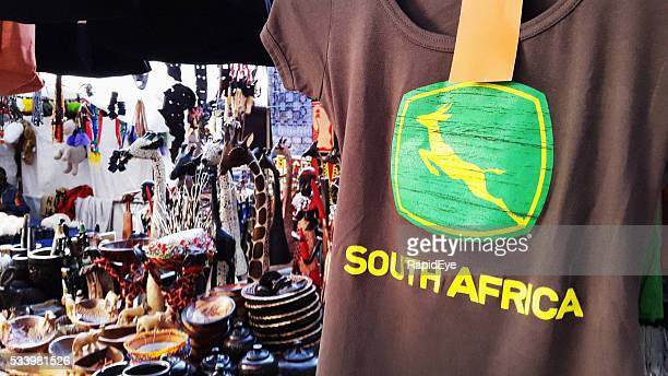 South Africa branded T-shirt with Springbok design
