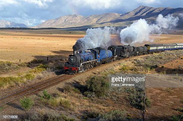 South Africa, Cape Province, Steam locomotive